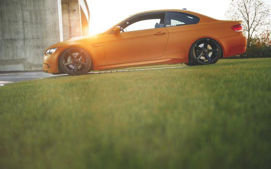 Заставки Bmw M3, авто, Orange