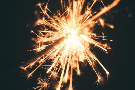 Photo free fireworks, sparkler, glitter
