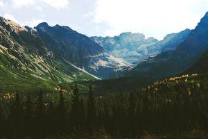 Фото бесплатно луг, форма рельефа, Альпы
