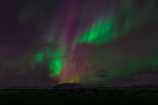 Фото бесплатно небесный, магнитный, огни