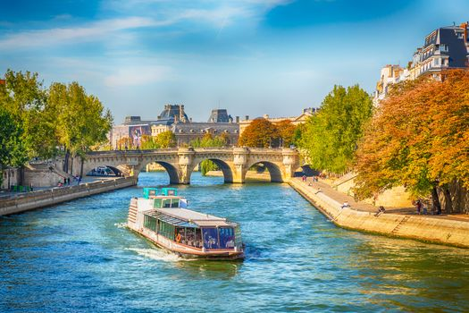 Photo free Seine river cruise, Paris, bridge