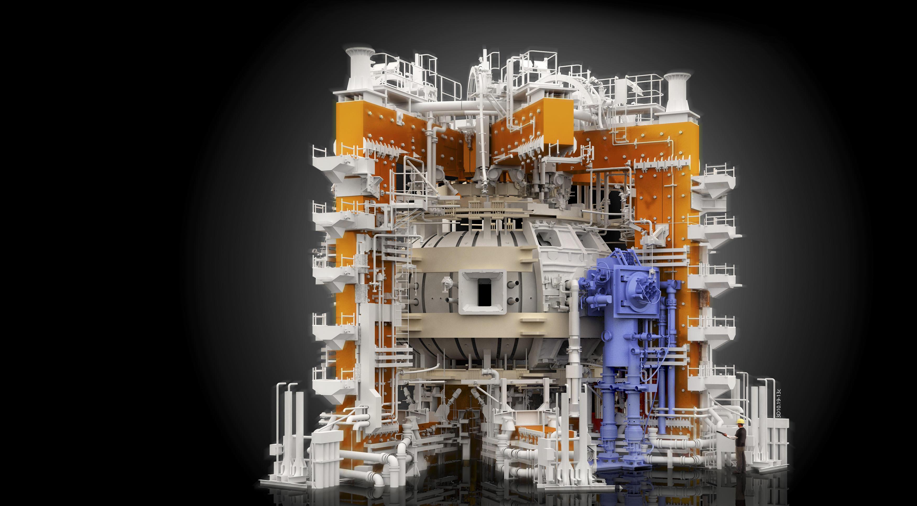 Обои Токамак, термоядерный, реактор, синтез