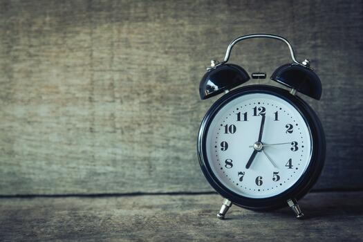 Photo free clock, alarm clock, time