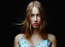 Фото бесплатно модель, блондинка, портрет лица