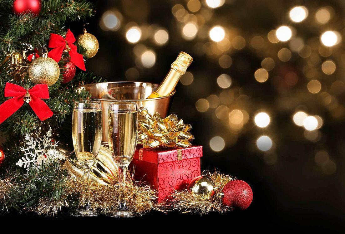 Праздник новый год · бесплатное фото