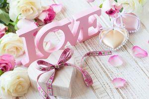 Фото бесплатно lyubov, cvety, rozy, valentine