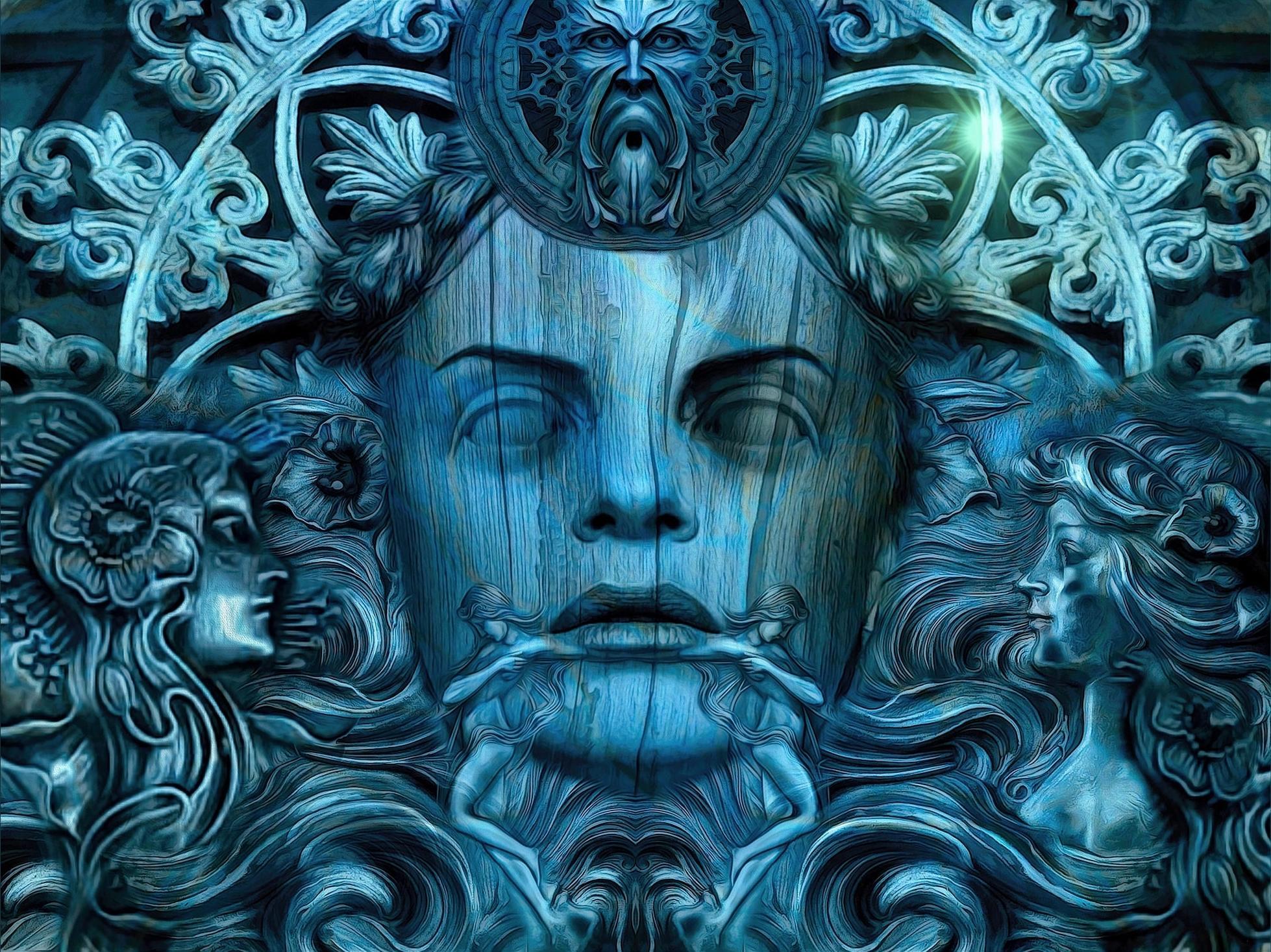 Обои Тринадцать королев Камелота, Слепая королева, фантастика