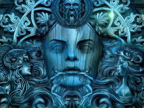 Тринадцать королев Камелота,Слепая королева,фантастика