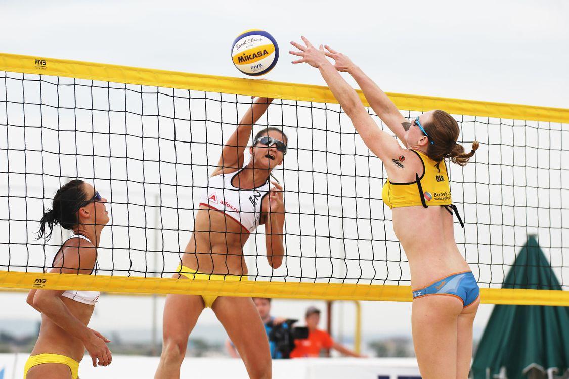 Обои волейбол, пляжный, девушки на телефон | картинки спорт
