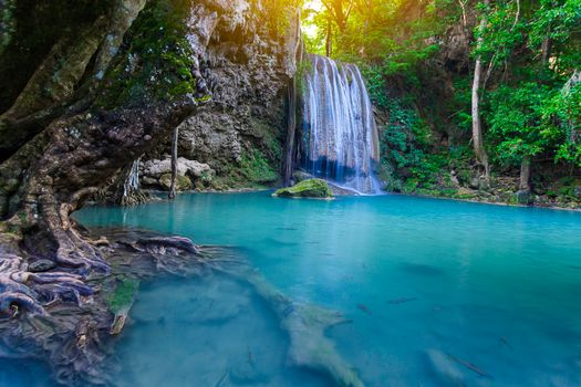 Photo free Erawan Waterfall, Erawan National Park, Thailand