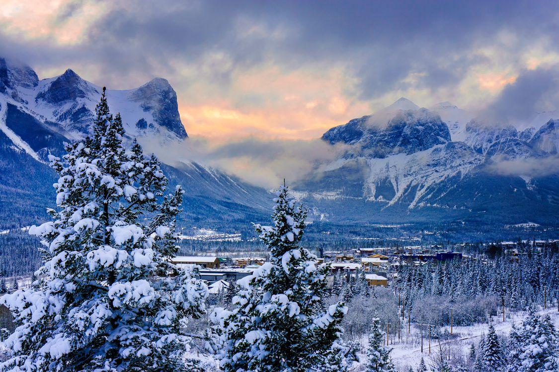 Фото бесплатно Канада, Canmore, Alberta - на рабочий стол