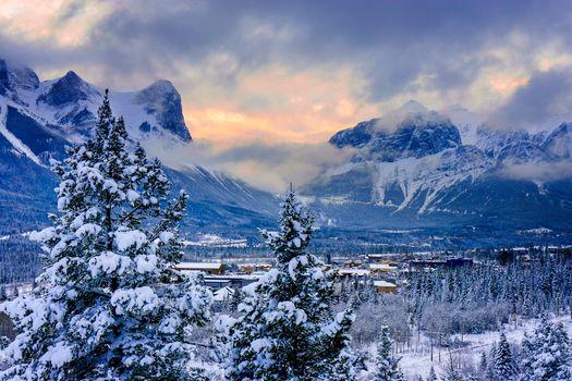 Photo free Canada, Canmore, Alberta