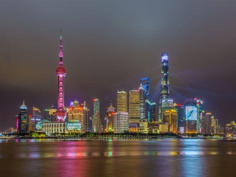 Заставки Пудун, Шанхай, Китай