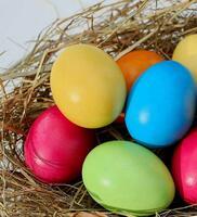 Фото бесплатно яйца, цветные яйца, пасха