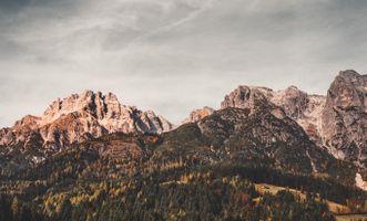 Заставки Леоганг, Австрия, горы