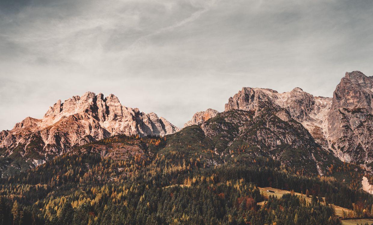 Фото бесплатно Леоганг, Австрия, горы - на рабочий стол