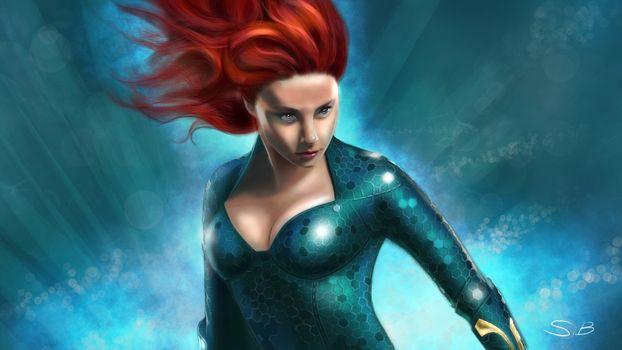 Фото бесплатно Mera, супергерои, произведение искусства