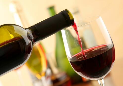 Photo free bottle, wine, red wine