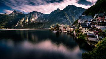 Город на крою моря · бесплатное фото