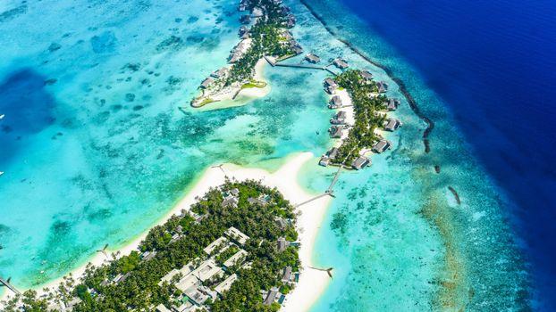 Photo free tropical island, ocean, aerial view