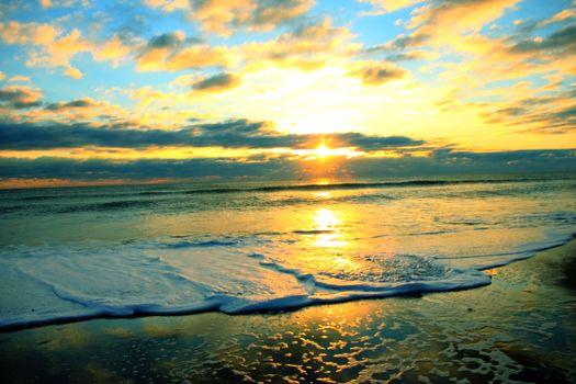 Photo free summer, landscape, wave
