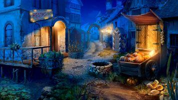 Фото бесплатно город, улица, фонари