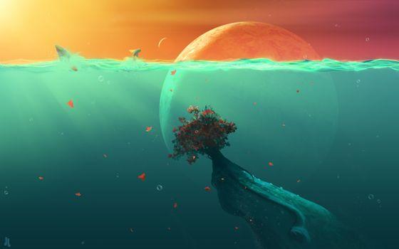 Photo free ocean, planet, fish
