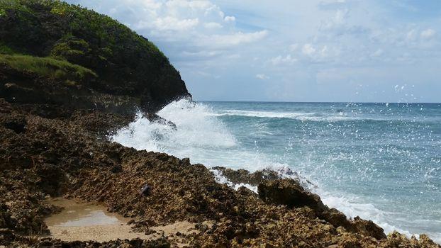 Фото бесплатно местность, водоём, скалы