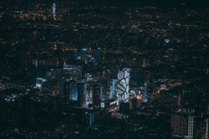 Бесплатные фото Пекин,Китай,ночной город,вид сверху,небоскребы,beijing,china