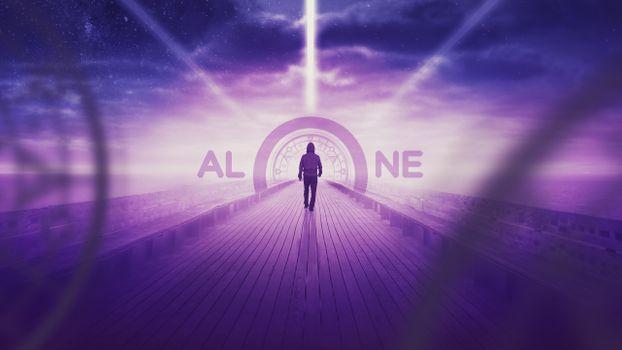 Фото бесплатно человек, ходьба в одиночку, шлюз
