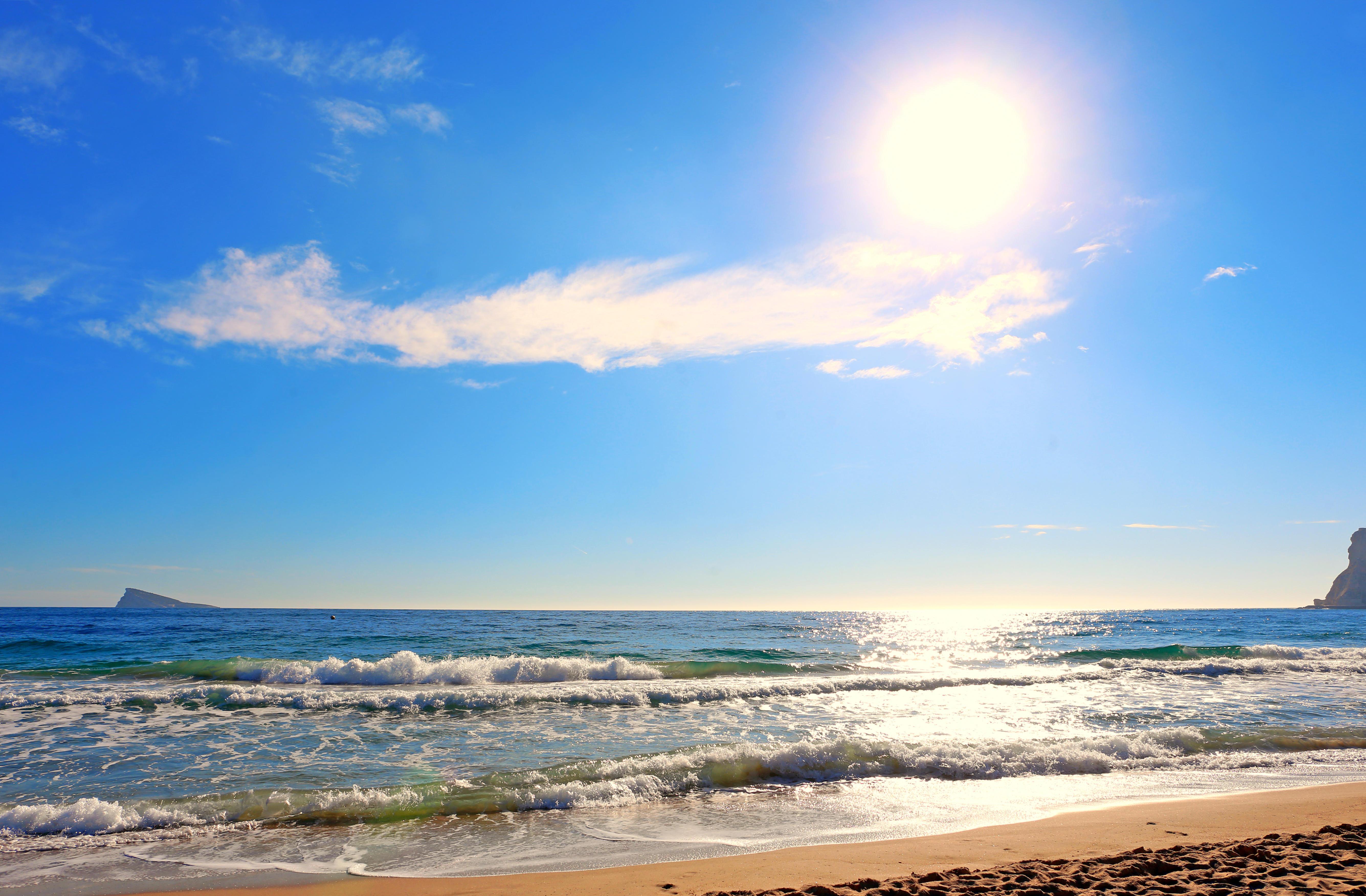 Обои море, пляж, пейзаж