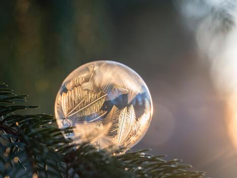 Фото бесплатно пузырь, жидкий пузырь, вода