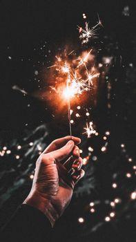 Бенгальский огонь · бесплатное фото