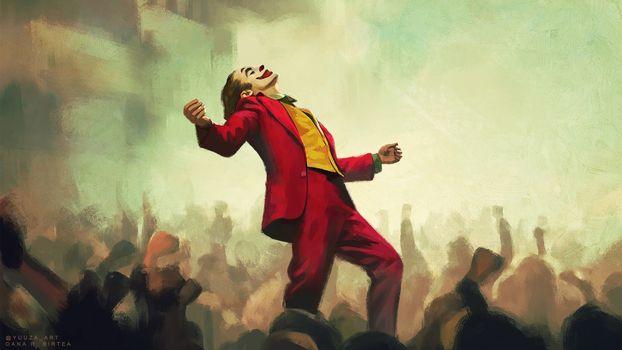 Заставки на сайте DeviantArt, Joker, Supervillain