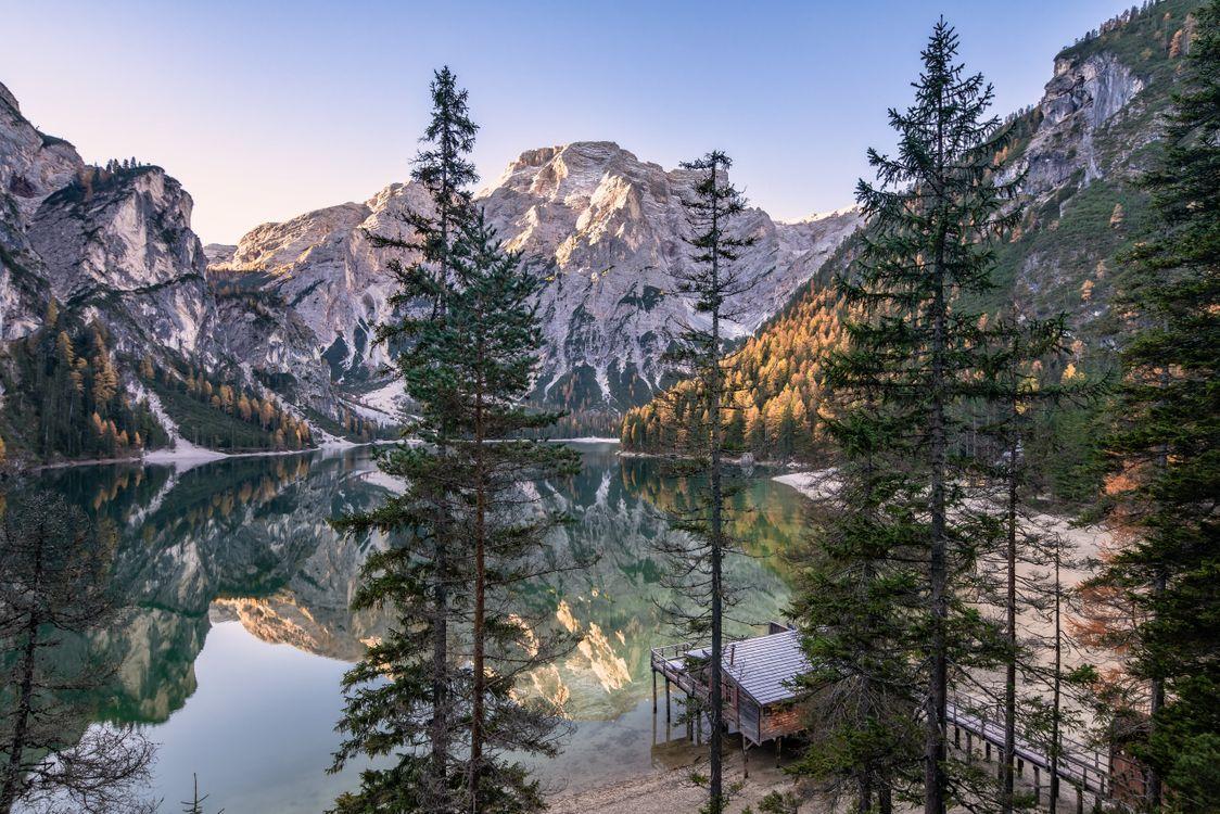 Фото озеро итальянское озеро Альпы - бесплатные картинки на Fonwall