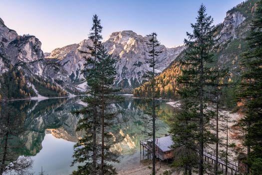Фото бесплатно озеро, итальянское озеро, Альпы