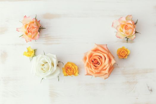 rose,flowers,wood