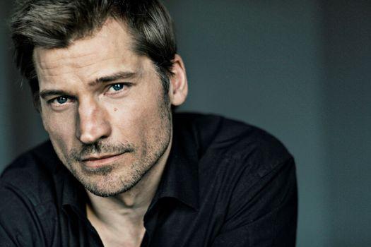 Photo free Nikolaj Coster, face portrait, beard