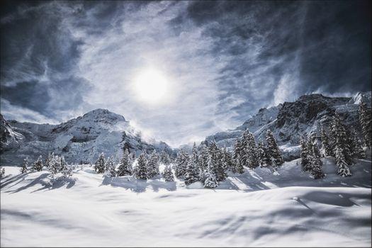 Фото бесплатно Бернские Альпы, Бернский Оберланд, Эйгер