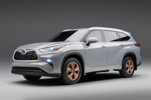 Фото бесплатно машины, Toyota, серый