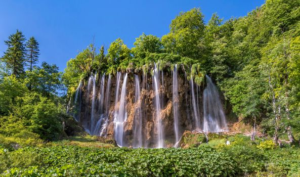 Photo free nature, Croatia, waterfalls