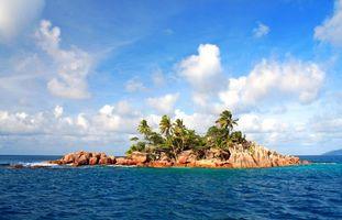 Бесплатные фото тропики,Сейшелы,море,остров