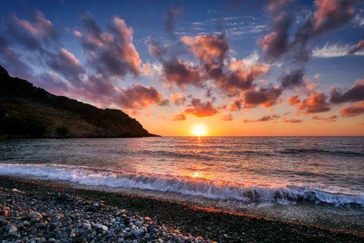 Фото бесплатно побережье, камни, небо