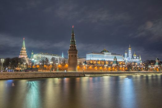 Photo free Moscow, the Moscow river, Russia