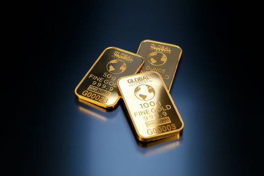 Photo free gold, bullion, business