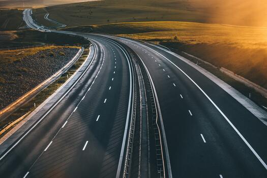 Photo free asphalt, roadway, field