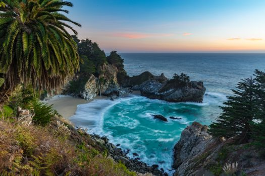 Photo free Big Sur, landscape, waterfall