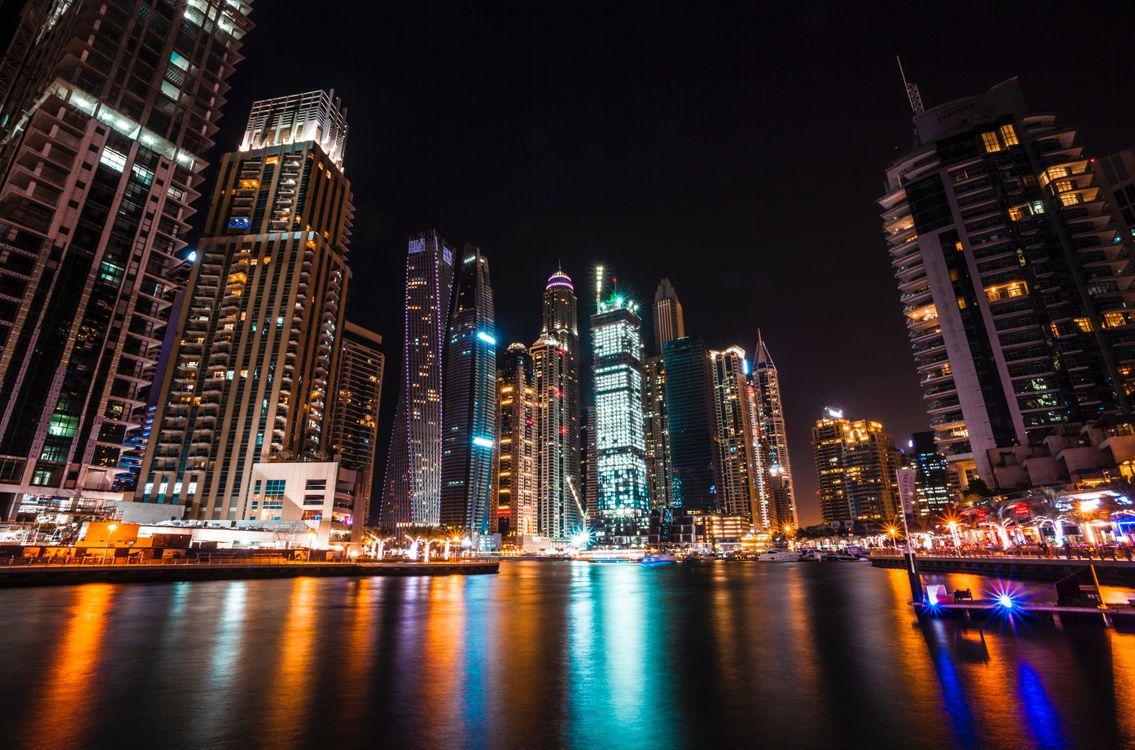 Фото бесплатно Дубай, Объединенные арабские эмираты, небоскребы - на рабочий стол
