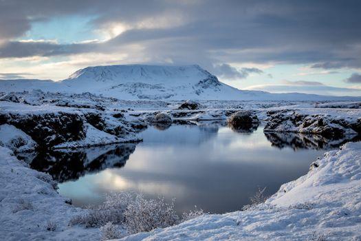 Заставки природа, Исландия, горы