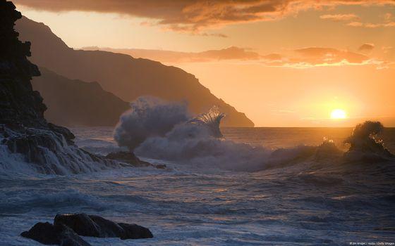 Фото бесплатно природа, утро, солнечный свет